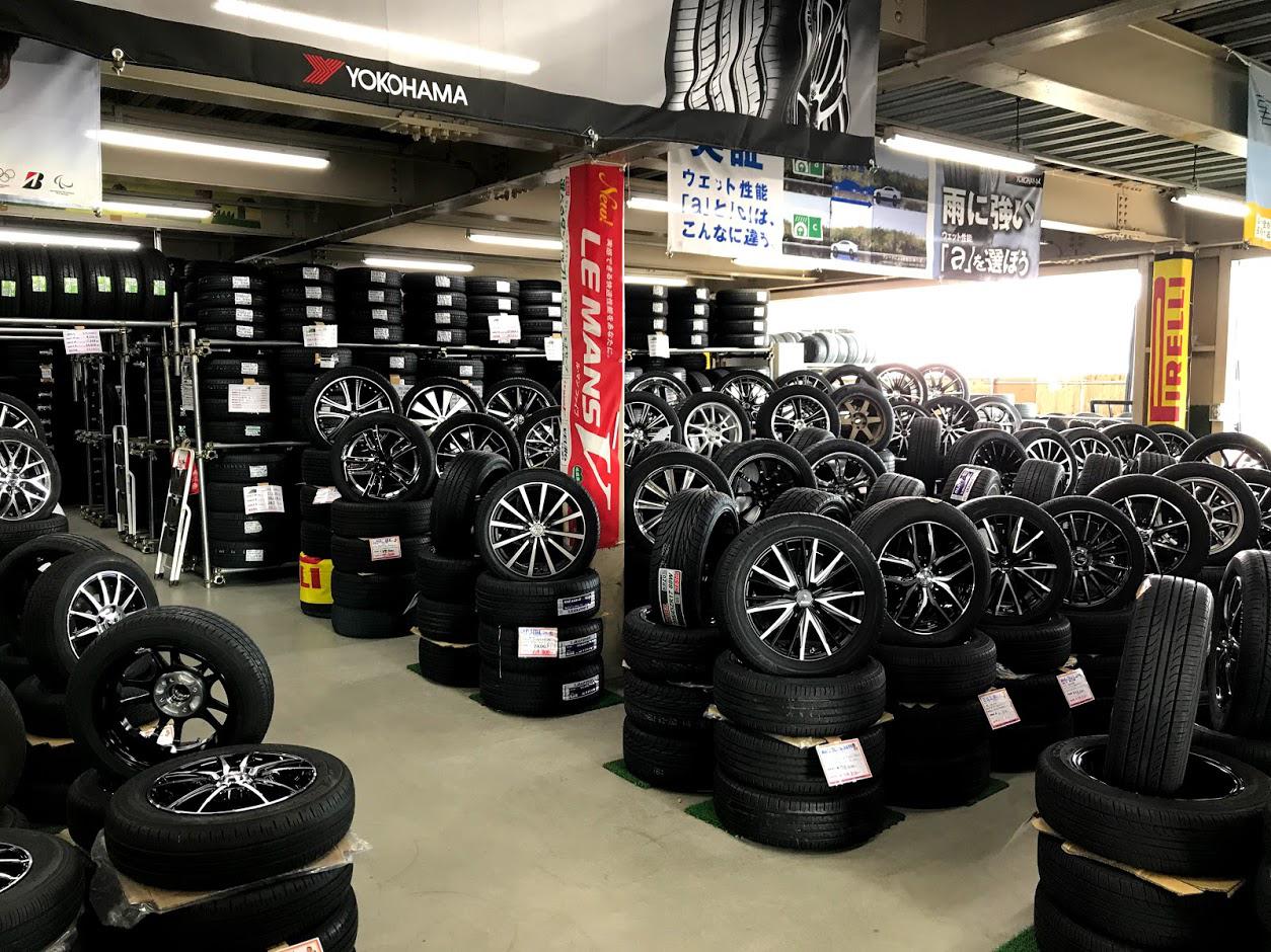 タイヤ価格がアップ